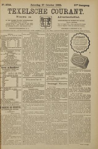 Texelsche Courant 1923-10-27