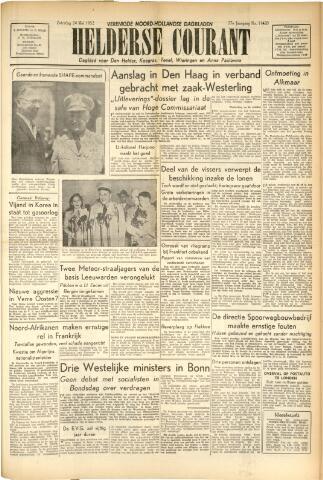 Heldersche Courant 1952-05-24