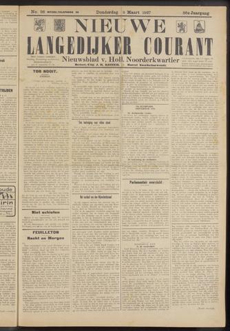 Nieuwe Langedijker Courant 1927-03-03