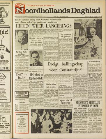 Noordhollands Dagblad : dagblad voor Alkmaar en omgeving 1967-04-24