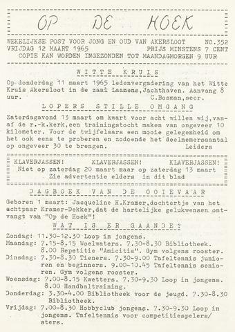 Op De Hoek, weekblad voor Akersloot 1965-03-12