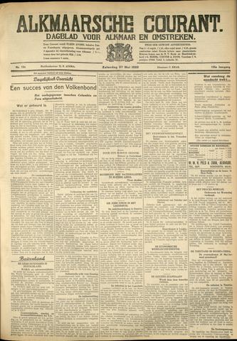 Alkmaarsche Courant 1933-05-27