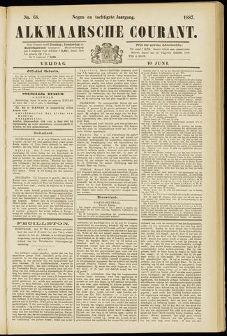 Alkmaarsche Courant 1887-06-10