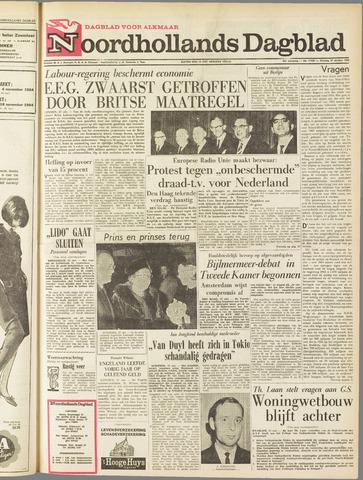 Noordhollands Dagblad : dagblad voor Alkmaar en omgeving 1964-10-27