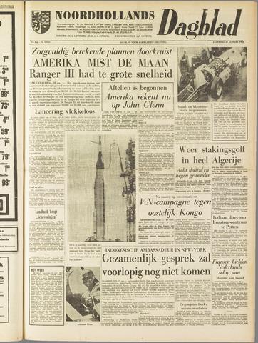 Noordhollands Dagblad : dagblad voor Alkmaar en omgeving 1962-01-27