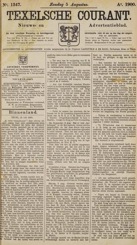 Texelsche Courant 1900-08-05