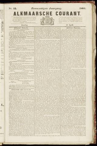 Alkmaarsche Courant 1864-04-10