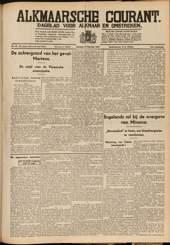 Alkmaarsche Courant 1939-02-14