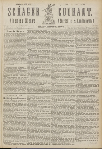Schager Courant 1920-04-14