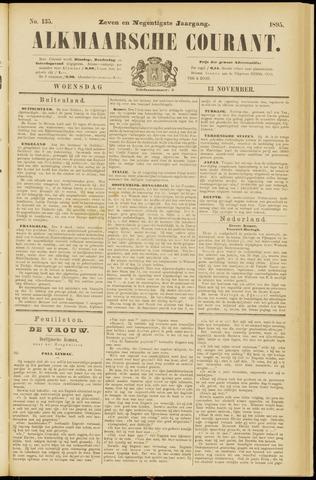Alkmaarsche Courant 1895-11-13