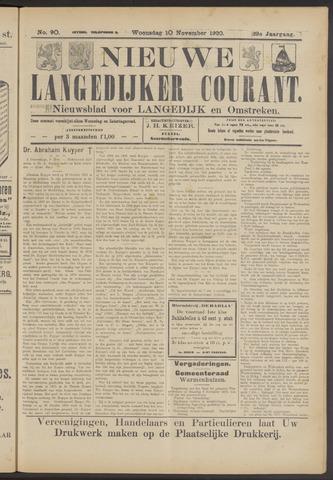 Nieuwe Langedijker Courant 1920-11-10