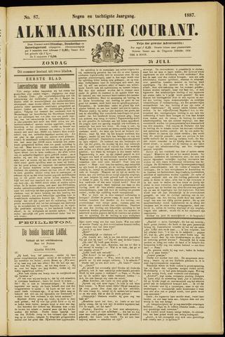 Alkmaarsche Courant 1887-07-24