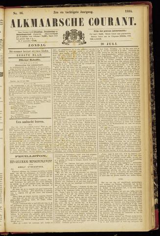 Alkmaarsche Courant 1884-07-20