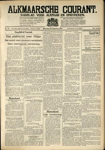 Alkmaarsche Courant 1934-08-20
