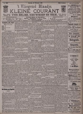 Vliegend blaadje : nieuws- en advertentiebode voor Den Helder 1897-11-20