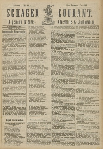 Schager Courant 1911-05-27