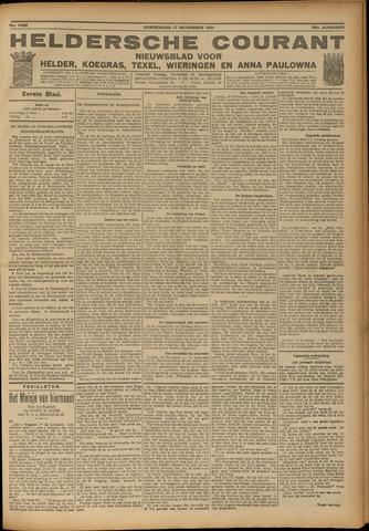 Heldersche Courant 1921-11-17