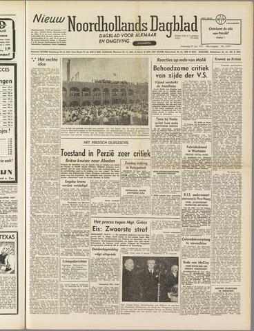 Nieuw Noordhollandsch Dagblad : voor Alkmaar en omgeving 1951-06-27