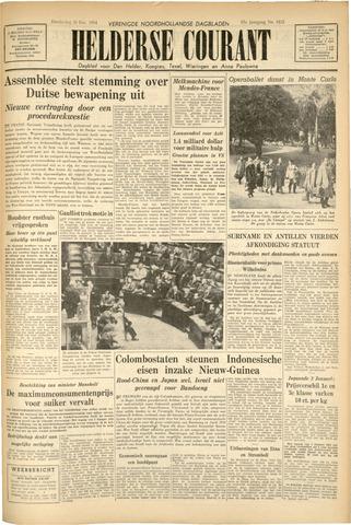Heldersche Courant 1954-12-30