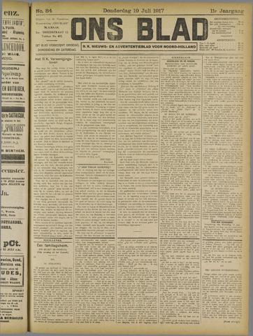 Ons Blad : katholiek nieuwsblad voor N-H 1917-07-19