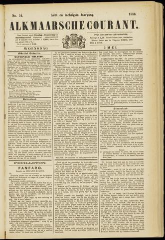 Alkmaarsche Courant 1886-05-05