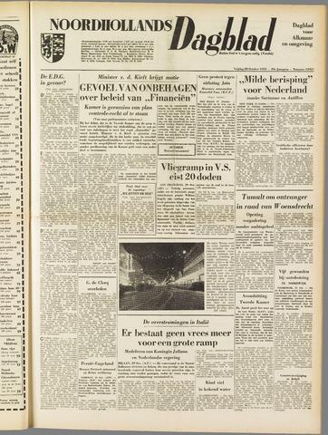 Noordhollands Dagblad : dagblad voor Alkmaar en omgeving 1953-10-30