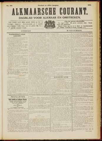Alkmaarsche Courant 1909-11-30
