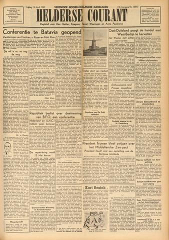 Heldersche Courant 1949-04-15