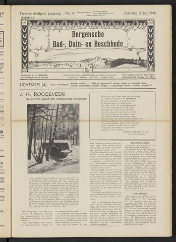 Bergensche bad-, duin- en boschbode 1948-07-03