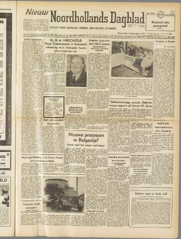 Nieuw Noordhollandsch Dagblad : voor Alkmaar en omgeving 1949-12-14