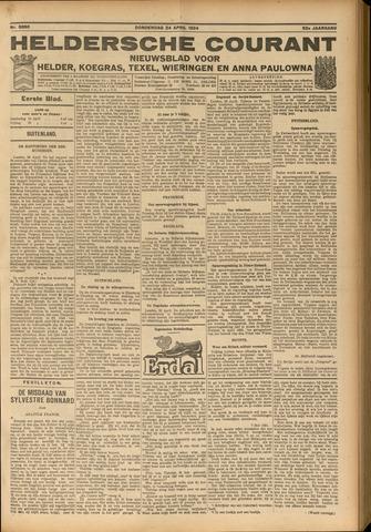 Heldersche Courant 1924-04-24