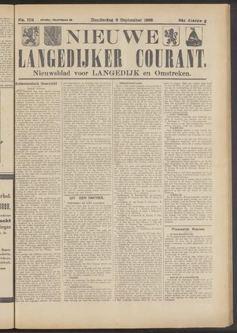 Nieuwe Langedijker Courant 1925-09-03