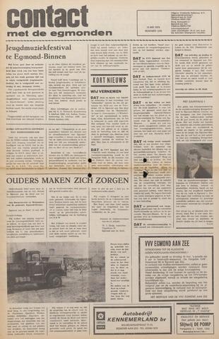 Contact met de Egmonden 1976-05-12