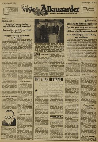 De Vrije Alkmaarder 1947-07-09