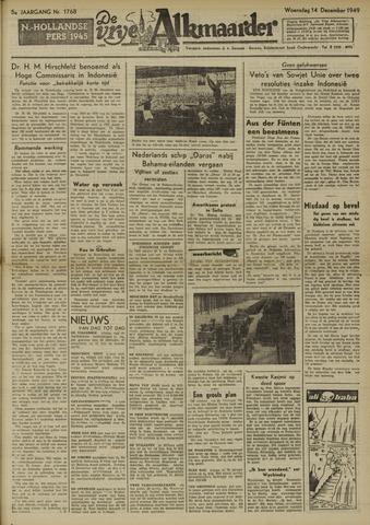 De Vrije Alkmaarder 1949-12-14