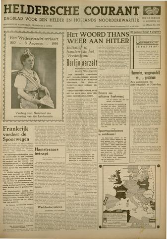 Heldersche Courant 1939-08-31