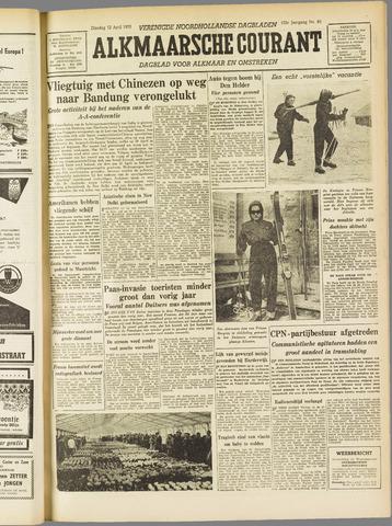 Alkmaarsche Courant 1955-04-12