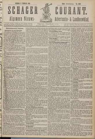 Schager Courant 1920-02-17