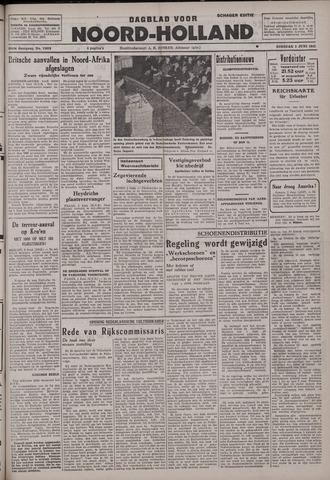 Dagblad Noord-Holland, Schager editie 1942-06-02