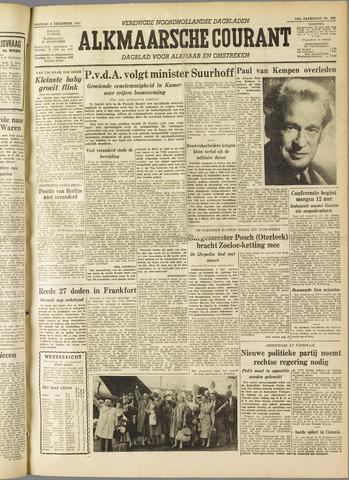 Alkmaarsche Courant 1955-12-09
