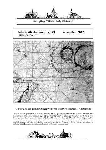 Informatieblad stichting Historisch Niedorp 2017-11-01