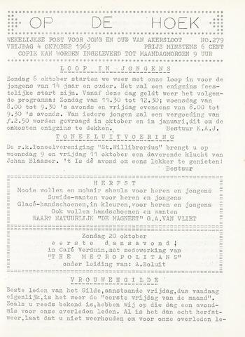 Op De Hoek, weekblad voor Akersloot 1963-10-04
