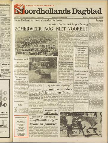 Noordhollands Dagblad : dagblad voor Alkmaar en omgeving 1967-08-02