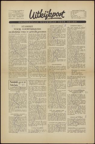 Uitkijkpost : nieuwsblad voor Heiloo e.o. 1956-07-13