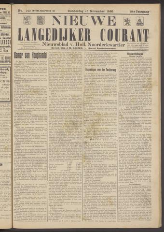 Nieuwe Langedijker Courant 1926-11-25