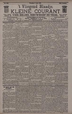 Vliegend blaadje : nieuws- en advertentiebode voor Den Helder 1895-04-17