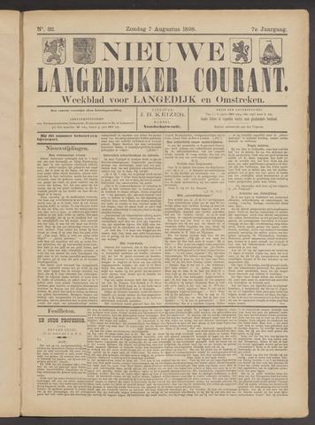Nieuwe Langedijker Courant 1898-08-07