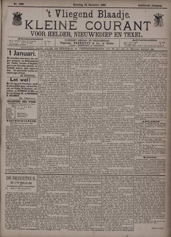 Vliegend blaadje : nieuws- en advertentiebode voor Den Helder 1890-12-13