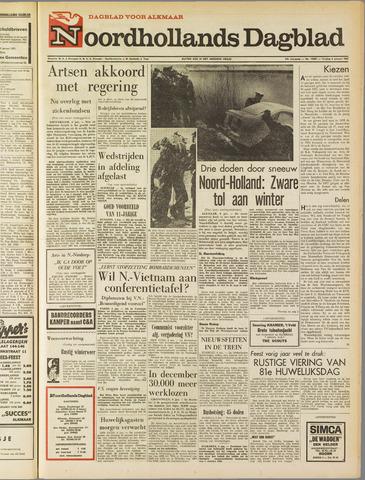 Noordhollands Dagblad : dagblad voor Alkmaar en omgeving 1967-01-06