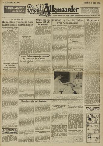 De Vrije Alkmaarder 1948-12-07